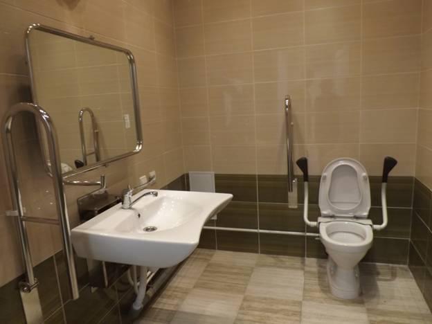 Туалетная комната для людей с ограниченными возможностями